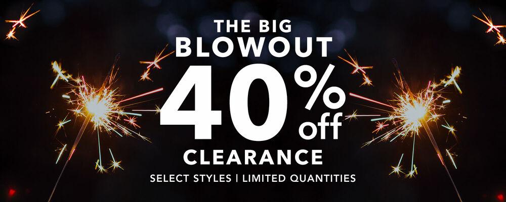 40% Off Flash Sale