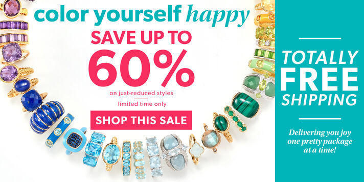 Color Yourself Happy Save up to 60% + free shipping