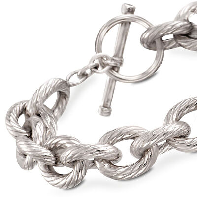 Clearance Bracelets. Image Featuring Sterling Silver Bracelet