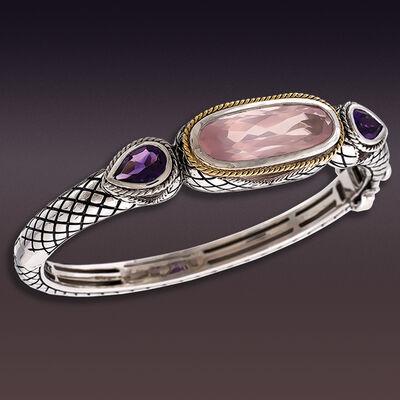 Andrea Candela. Image Featuring Sterling Silver Gemstone Bracelet