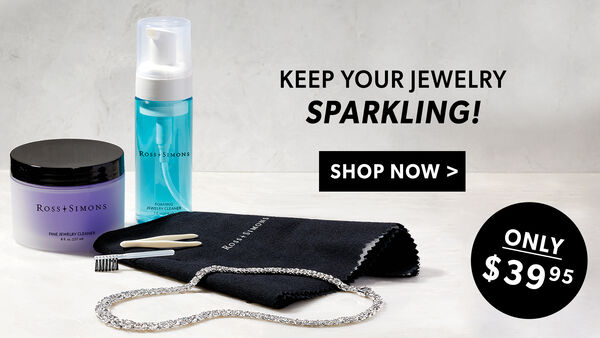 Keep Your Jewelry Sparkling! Only $39.95. Shop Now