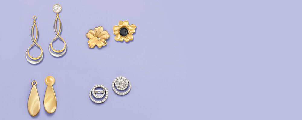 Earring Jackets. Take A Shine To The Latest Styles.