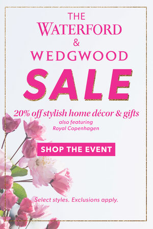 Waterford & Wedgwood Sale
