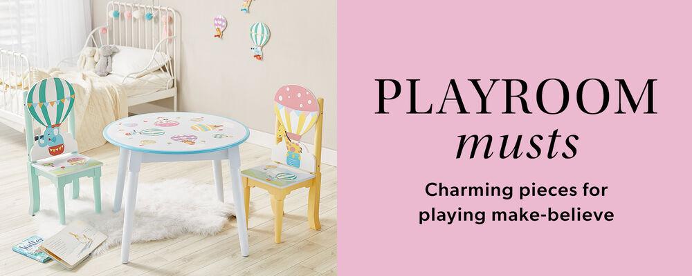 Playroom musts