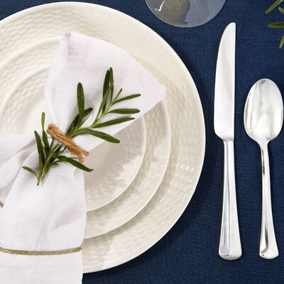 Home & Tabletop. Image Featuring A Formal Dinnerware Set-up