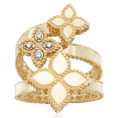 Roberto Coin. Image Featuring Diamond and Gold Ring