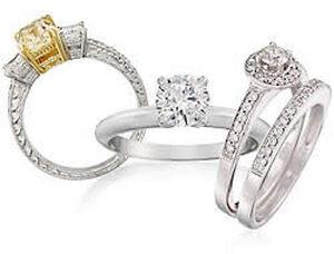 3-Stone Diamond Engagement Rings