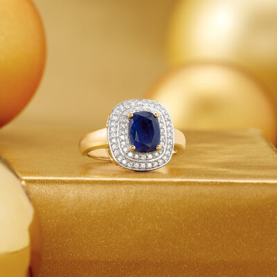 Shop All. Image Featuring blue cocktail ring