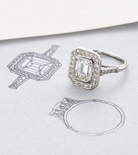 Fabulous Creations. Image of ring that matches illustration of the ring.