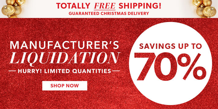 Liquidation Deals Free delivery by Christmas