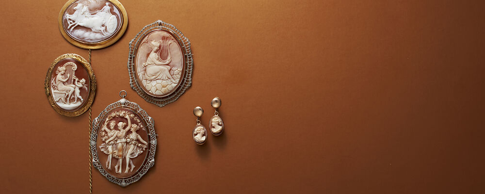 Cameo Jewelry Each a Special Work of Art