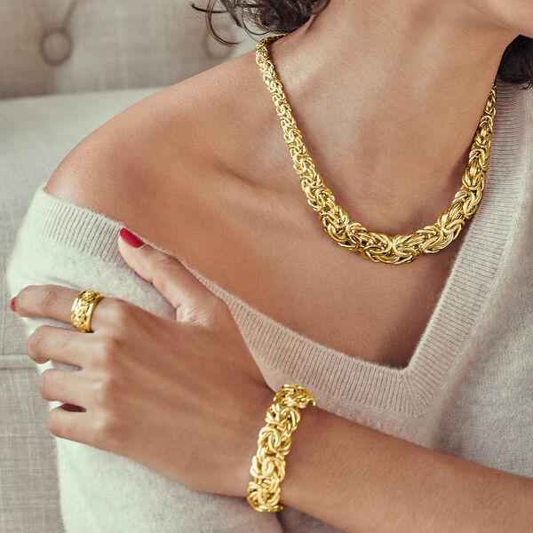 Byzantine Jewelry. Image Featuring Model Shot Wearing Byzantine Jewelry