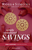 Catalog Cover : Ross-Simons Simply Sensational Savings Fall 2020 -- image featuring Andiamo Floral Disc Drop Earrings from Italy