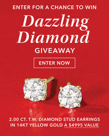 Win Diamond Stud Earrings