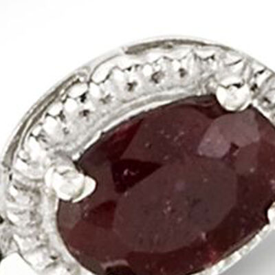 July - Ruby. Image Featuring Ruby Ring