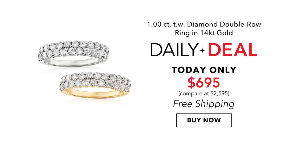 Daily Deal - Only $695 Dazzling 1 ct. diamond ring