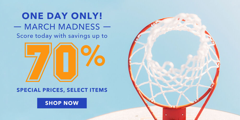 Today Only Score mad savings of up to 70%!