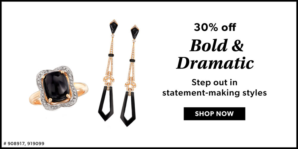 Statement Styles Turn heads in bold jewels