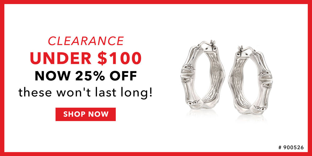 25% Off Clearance Chic pieces for less than $100