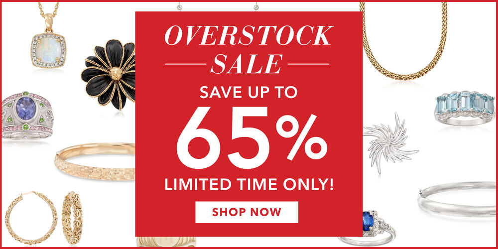 Save Up to 65%! Limited-time overstock sale