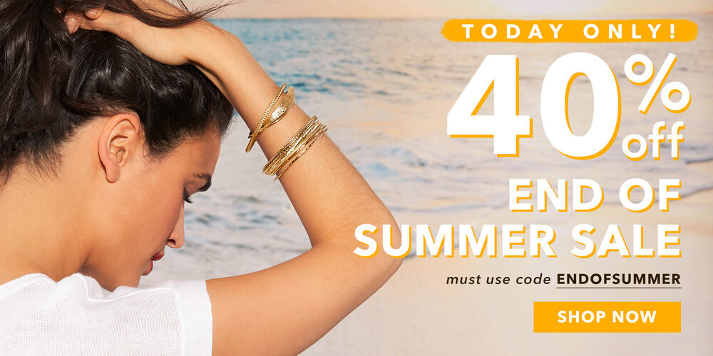 Save Big – Today Only! 40% off + $50 gift coupon