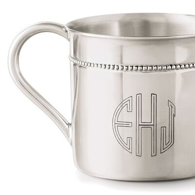 Baby Cups. Image Featuring Monogram Baby Cup