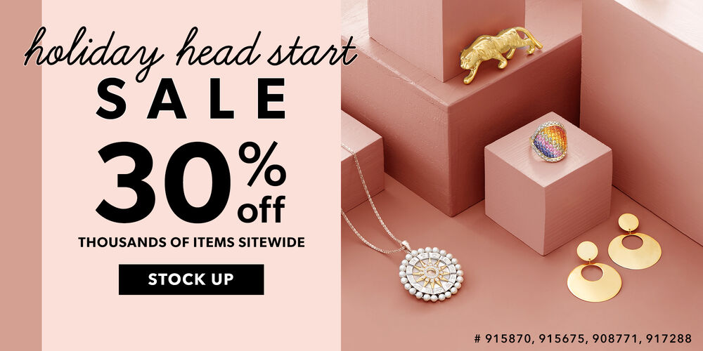 Holiday Head Start 30% off 1000s of items
