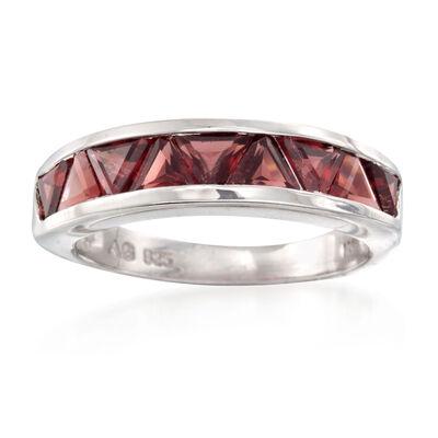January Garnet. Image Featuring Garnet Ring