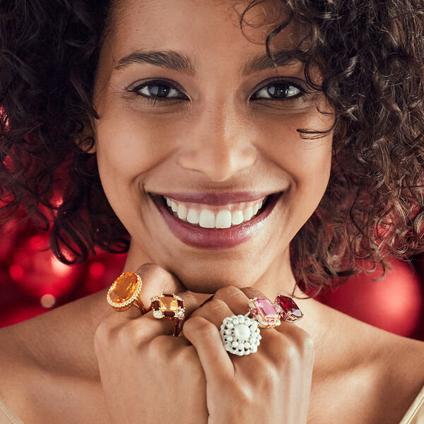 A holiday party must! Shop Cocktail Rings
