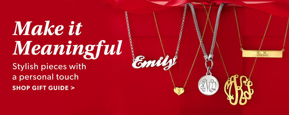 Holiday Gift Guide Personalized Jewelry
