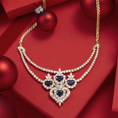 Estate Gifts. Image Featuring Gemstone and Diamond Necklace