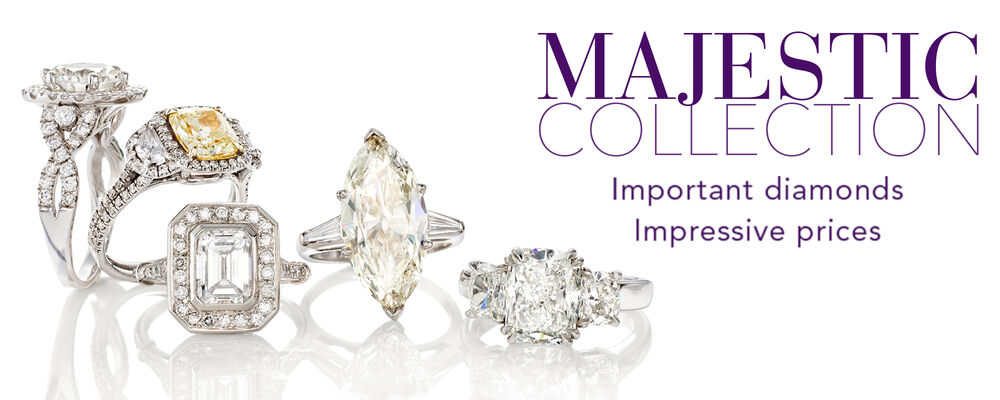 The Majestic Collection. Important Diamonds Impressive Prices