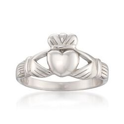 Sterling Silver Claddagh Ring #792123