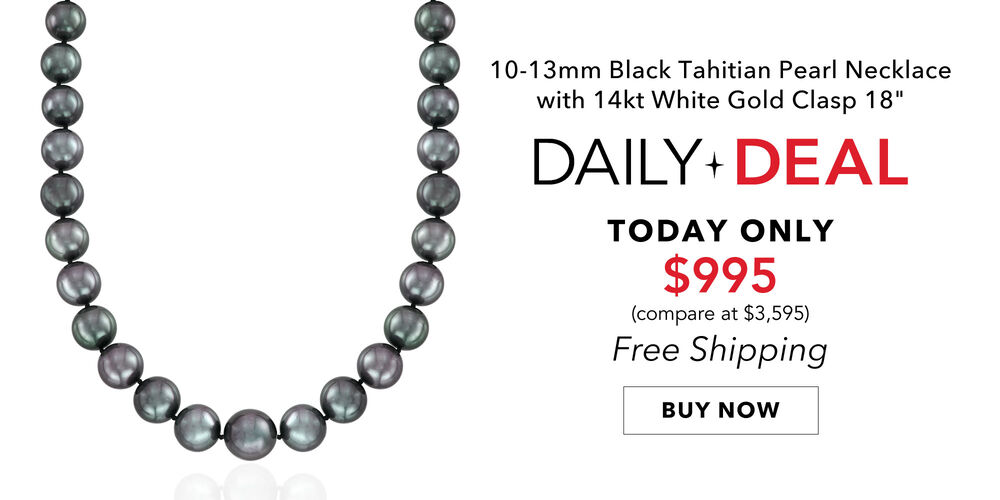 Daily Deal -- Just $995! Luminous Tahitian pearl necklace