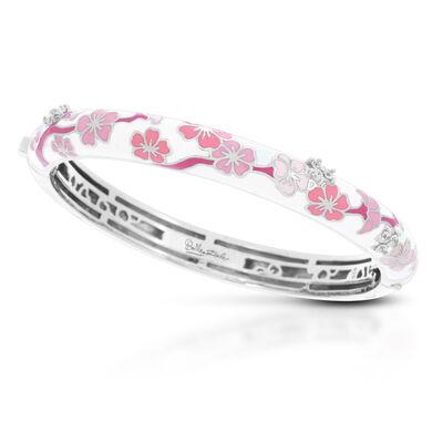 Belle Etoile. Image Featuring Enamel Pink Floral Bracelet
