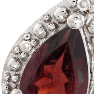 January Garnet. Image Featuring Garnet Ring