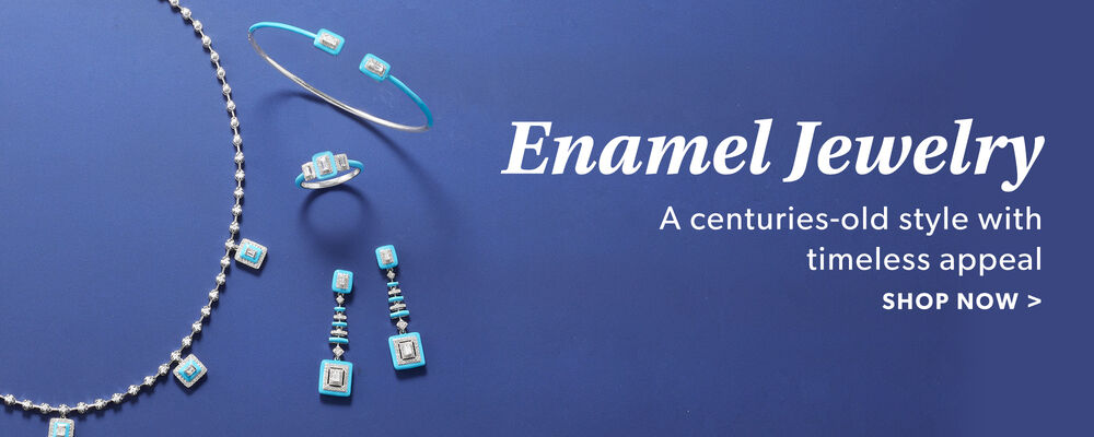 Enamel Jewelry. A Centuries-Old Style With Timeless Appeal. Shop Now. Image Featuring Enamel Jewelry 932002, 932010, 932022, 932030