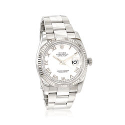 Certified Pre-Owned Rolex Datejust Men's 36mm Automatic Stainless Steel Watch, , default