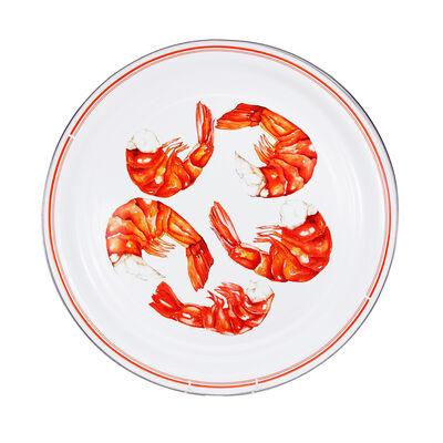 "Golden Rabbit ""Shrimp"" Large Tray, , default"