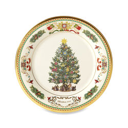 """Lenox 2018 Annual """"Trees Around the World"""" Porcelain Plate - Portugal 28th Edition, , default"""