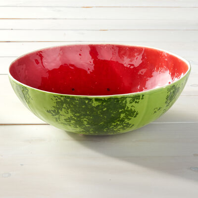 Bordallo Pinheiro Watermelon Serving Bowl, , default