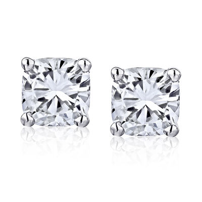 1.40 ct. t.w. Certified Diamond Stud Earrings in Platinum, , default
