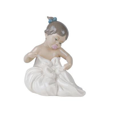 "Nao ""My Blanky"" Porcelain Figurine, , default"