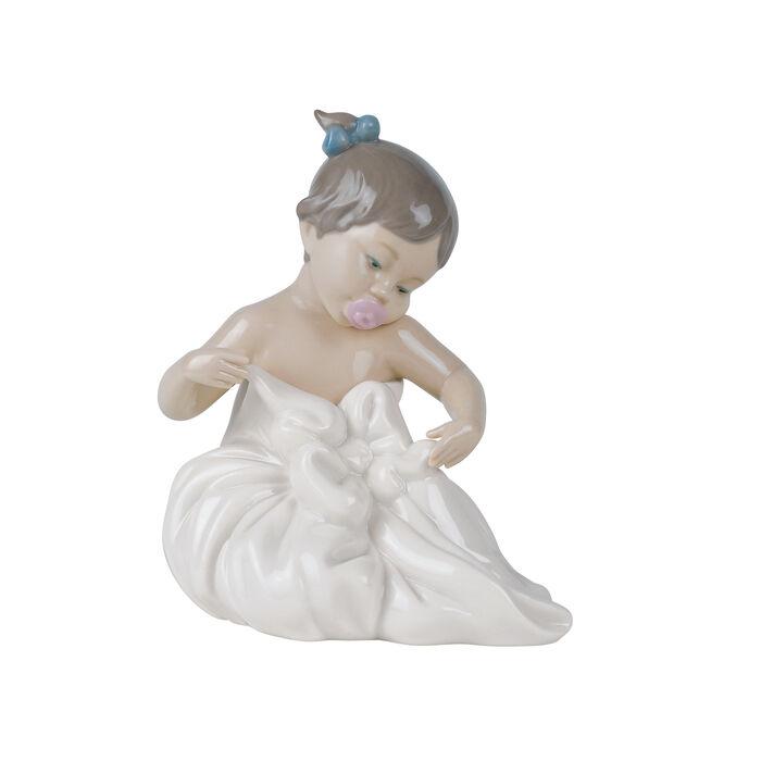 "Nao ""My Blanky"" Porcelain Figurine , , default"