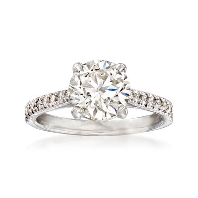 Majestic Collection 2.45 ct. t.w. Diamond Ring in 18kt White Gold, , default