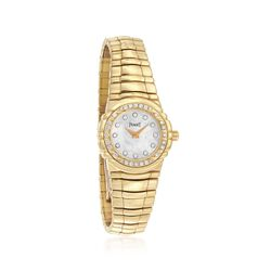C. 1990 Vintage Piaget Women's 25mm .55 ct. t.w. Diamond Watch in 18kt Yellow Gold. Size 7, , default