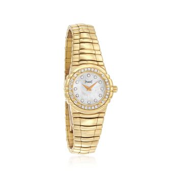 C. 1990 Vintage Piaget Women's 25mm .55 ct. t.w. Diamond Watch in 18kt Yellow Gold. Size 7, , default