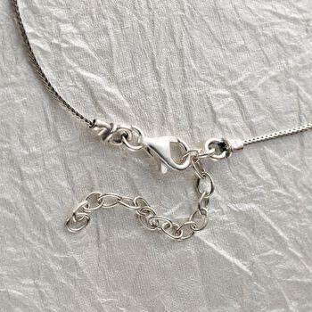 "Sterling Silver Scrollwork Bib Necklace. 18"", , default"