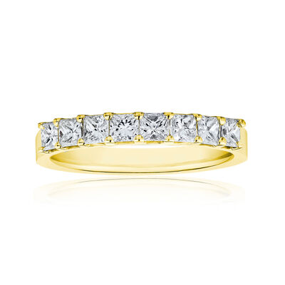 1.90 ct. t.w. Princess-Cut Diamond Ring in 14kt Yellow Gold, , default