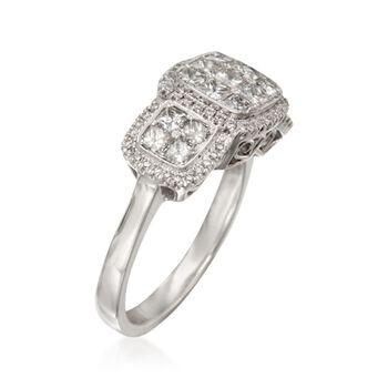 Simon G. 1.36 ct. t.w. Diamond Ring in 18kt White Gold, , default